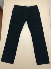 Diesel Pants Mens ~ Size 34 ~ Great Cond Denim Trousers Button Fly Style Black