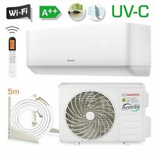 HANTECH 9000 BTU UV-C Split Klimaanlage WLAN Klimagerät 2,6 kW HPRO + 5m Halter
