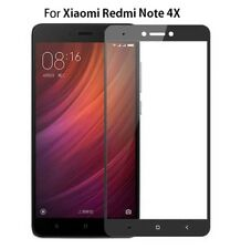 FULL COVERAGE TEMPERED GLASS SCREEN PROTECTOR FOR XIAOMI REDMI NOTE 4X COVER