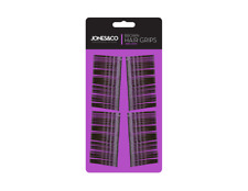 200 Brown Hair Grips Grip Clips Bobby Kirby Pins Clamps Salon Wavy Slides