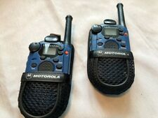 2 Motorola Talkabout 250 2 Way FRS Radios With Channel Lock and Scan