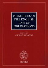 Principles of the English Law of Obligations by Oxford University Press...