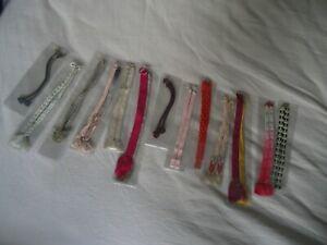 Lot of Japanese Vintage Haori Himo Tasseled Silk Strings Cords