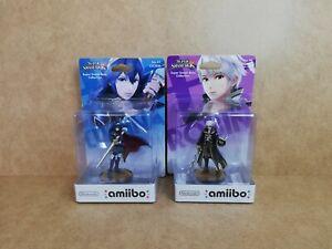 New Nintendo Amiibo Figures, Lucina & Robin, No's 30 & 31, Wii U, 3DS, Switch