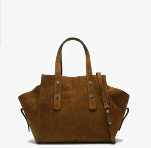 Daniel Footwear Mollar Suede Tan Tote Bag