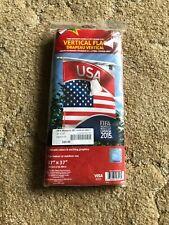 "FIFA Women's World Cup Canada 2015 Vertical USA Flag 27""x37"" New"