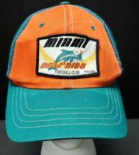 aaee43cb6308e NFL Reebok Miami Dolphins Football Club De Malla Camionero Sombrero Snap  Back Un tamaño