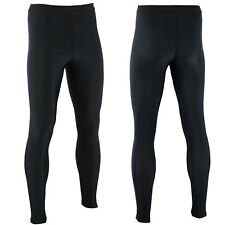 Leggings men compression pants Sport fitness workout Training tights long gym-L