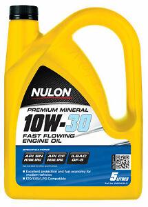 Nulon Premium Mineral Oil Fast Flowing 10W-30 5L PM10W30-5 fits Kia Grand Car...