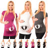 LOVE - Slogan Cotton Printed Maternity Pregnancy Top Tshirt Tee 2010