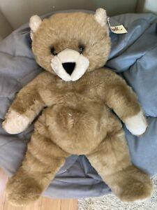 Vtg AVANTI APPLAUSE TEDDY BEAR #952 Perfect for With Tag Unused Stuffed Animal