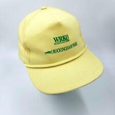 Yupoong Wrko Talk Radio AM680 Rockingham Park Dad Cap SnapBack Race Horse VTG