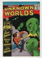 Unknown Worlds 34 ACG 1964 FN VF Aliens Ogden Whitney