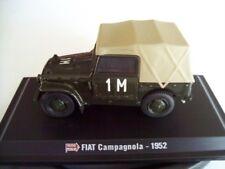 1952 FIAT CAMPAGNOLA 1000 MIGLIA MARLETTA / IZZO - NOREV 1/43 NEW HACHETTE COLL