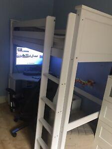 Kingston High Sleeper Ladder Bed Argos