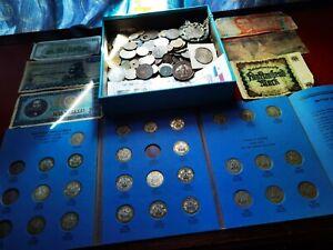 Old Various Mixed Coins Job Lot
