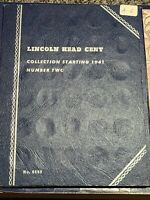 Coin Collectors Set: Lincoln Head Cents # 2-1941..... ( Complete) A-6