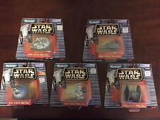 Star Wars Micro Machines Die-Cast Metal Vehicle Lot of 5