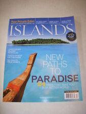 ISLANDS Magazine, DECEMBER 2008, JAMES BOND ISLAND REVEALED, BALI'S TRUE DANCE!