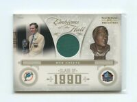 2011 Playoff National Treasures Emblems of Hall Materials Prime #26 Bob Griese