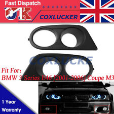 Nouveau Style Pare-chocs Brouillard Lumière Lampe de capot pour BMW Série 3 E46 2001-2006 coupe M3
