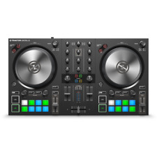 Native Instruments Traktor Kontrol S2 MK3 2-Channel USB MIDI DJ Controller Mixer
