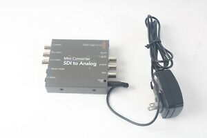 Blackmagic Design Mini Converter Analog to SDI with Power Supply