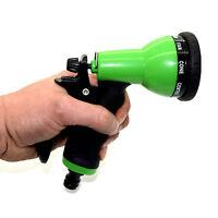 Water Spray Hose Gun 7 Function Sprayer Nozzles Garden Lawn Hozelock Compatible