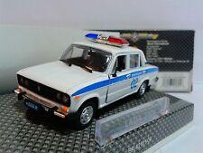 CCCP USSR Russia VAZ Lada 2106 Milicja Police Sedan 1:43 Bauer Autobahn MIB OVP
