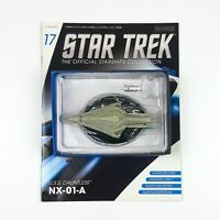 Star Trek Starship Collection USS DAUNTLESS NX01-A Model Eaglemoss Issue 17