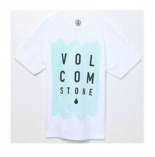 BRAND NEW VOLCOM MENS GUYS GRAPHIC REGULAR FIT T SHIRT TEE CREW TOP BLOUSE SZ L