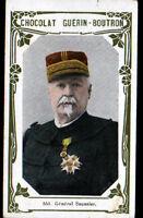 IMAGE CHOCOLAT GUERIN BOUTRON / Militaire GENERAL SAUSSIER à METZ en 1870