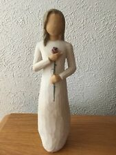 Willow Tree Love Woman with Red Rose Figurine by Susan Lordi 26112