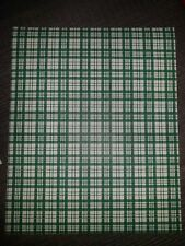 Vintage Wallpaper Country Plaid Forest Green by Motif