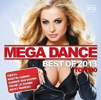 Tiesto Martin Garrix Sander van Doorn/Mega Dance Top 100 Best Of 2013 ovp 5/CD