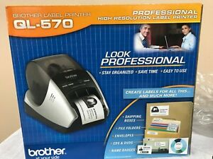 Brother QL-570 Professional High Res Thermal Label Printer