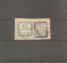 TIMBRE FRANCE FRANKREICH 1871 TAXE N°9 OBLITERE USED FRAGMENT