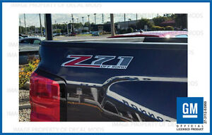 Z71 Off Road Decals Stickers 2014 2015 2016 2017 Chevy Silverado GMC Sierra - F