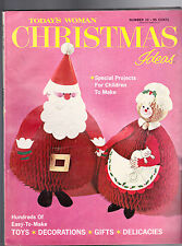 Today's Woman Christmas Ideas #10 1963 Santa Claus