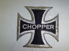 Aufnäher Aufbügler Patch CHOPPER - 8 x 8 cm