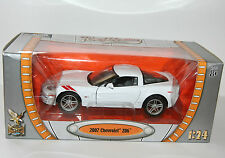 Road Signature - 2007 CHEVROLET Z06 (White) - Scale 1:24