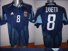 Argentina ZANETTI Adidas Shirt XL Jersey Football Soccer Inter Milan Trikot Top