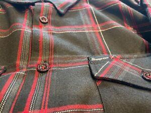 Dixxon mens XL snap on flannel