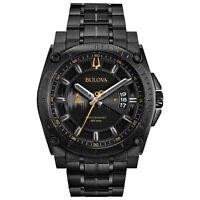 Bulova Grammy Edition Precisionist Men's Quartz Black Bracelet 47mm Watch 98B295