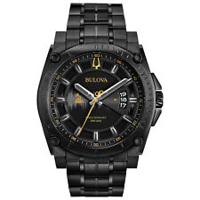 Bulova Grammy Edition Precisionist Men's Quartz Black Bracelet 47mm Watch 98B295