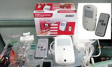 GBC 67429050 SENSORE PIR CON MICROTELECAMERA HD E DVR SU MICRO SD CARD DA 8GB