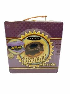 Bella Mini Donut Maker Kit Brand New Sealed Free Shipping