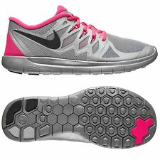 Girls Women Nike Free 5.0 Flash GS Trainers Running GYM Pink 5 UK RRP £69.99