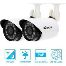KKmoon 2*700TVL Bullet CCTV Camera Waterproof IR-CUT Day/Night Vision 3.6mm Lens