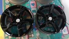 MAZDA RX8 ALLOY WHEELS/RIMS X 4 REFURBISHED IN BLACK BASE + 2K CLEAR 5 X 114.3!!